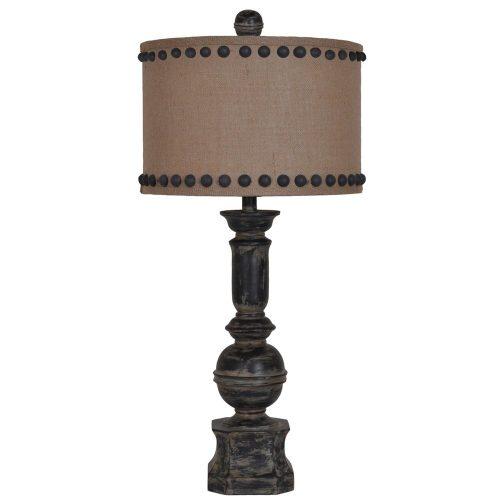 Iron Baluster Table Lamp CVAUP995