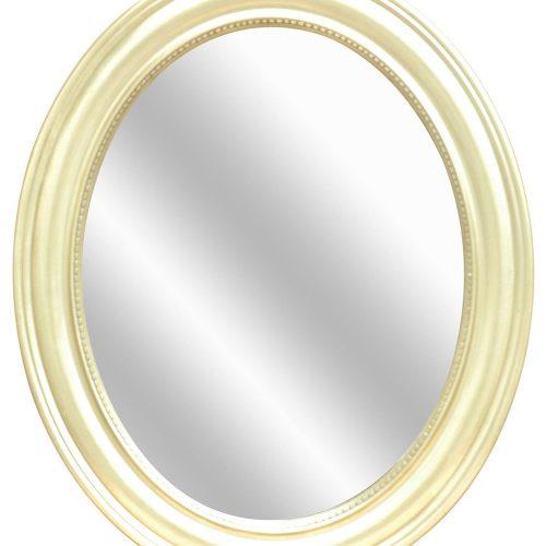Silver Oval Wall Mirror CVTMR1063C