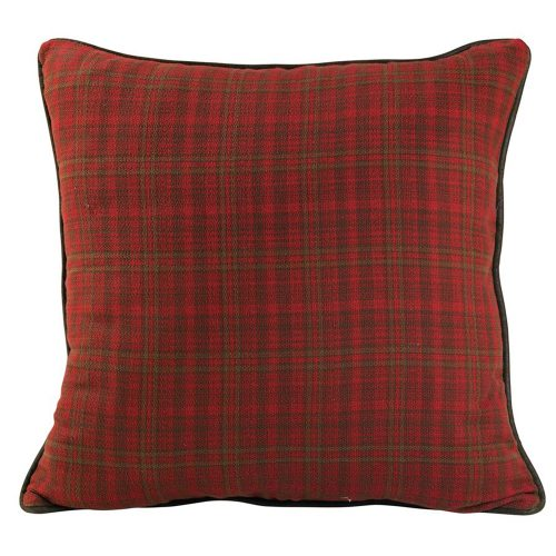 Cascade Lodge Faux Leather Pillow LG1845ES
