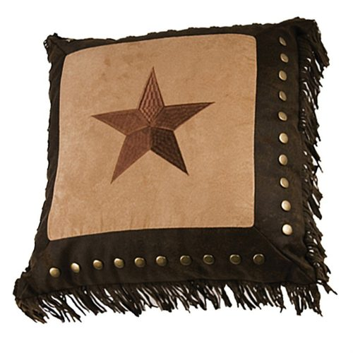 Luxury Square Star Pillow PL3111