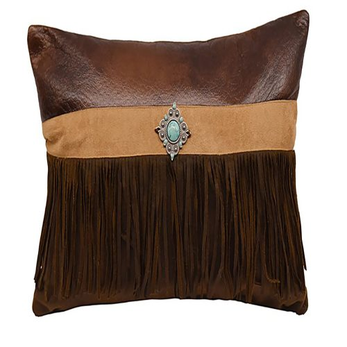 Faux Suede Pillow PL3130