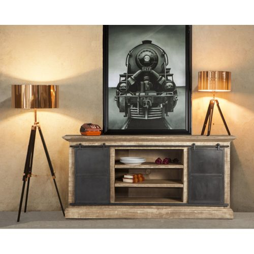 Antique Oak 72 Sideboard FST-SB72AO