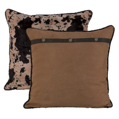 Caldwell Cowhide Printed Velvet Pillow WS4002ES