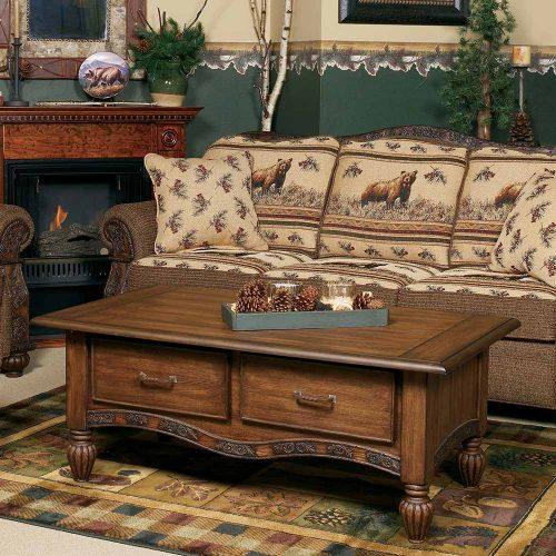 Marshfield Pine Cone Coffee Table 817430