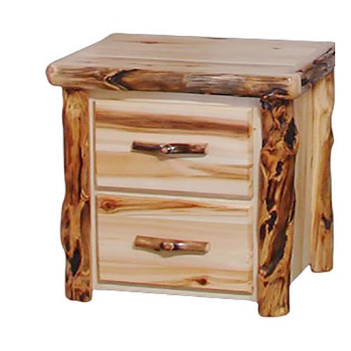 Aspen 2 Drawer nightstand
