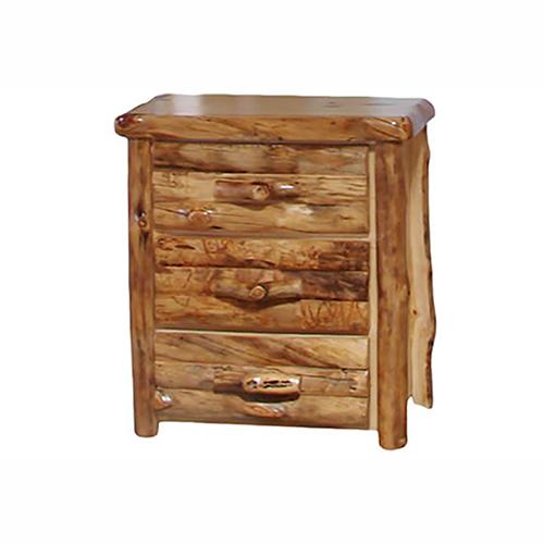 aspen log chest