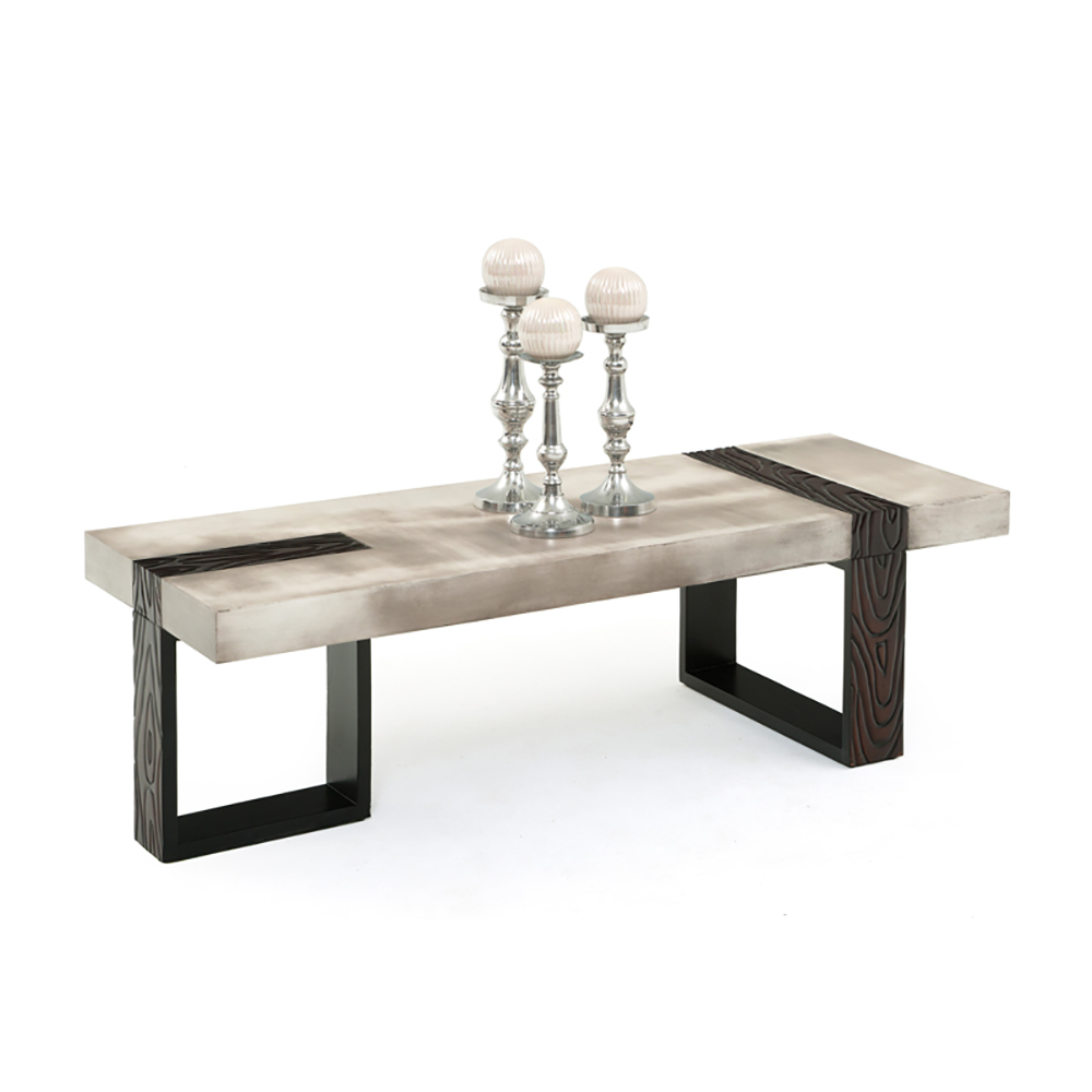 Industrial Chic Coffee Table: Industrial Chic Coffee Table WC-MISC13