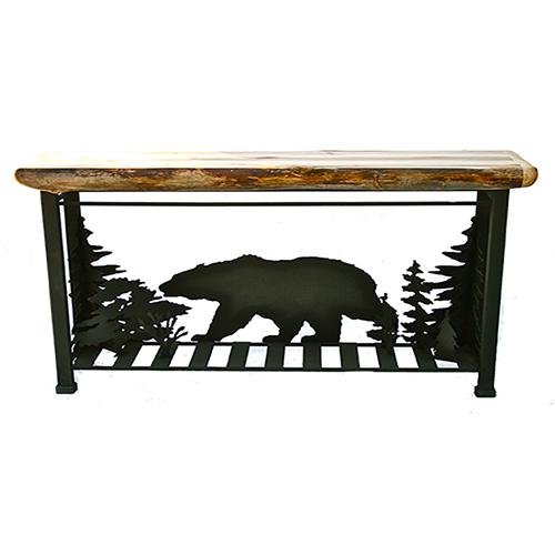 roaming bear sofa table