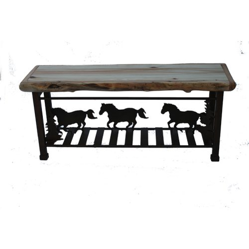 horse stampede sofa table