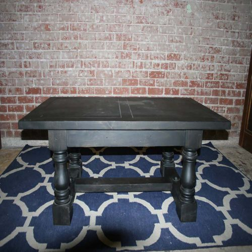 Black Charcoal Coffee Table WC-MISC10