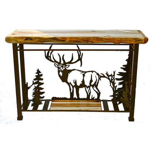 roaming elk sofa table