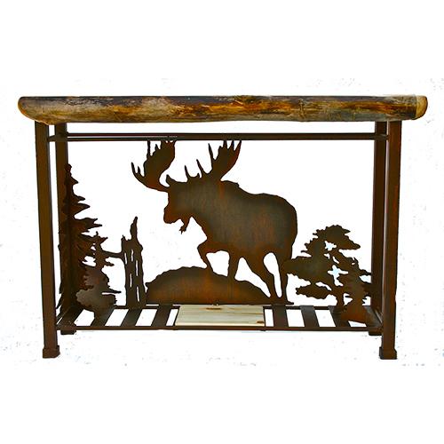 Roaminh moose sofa table