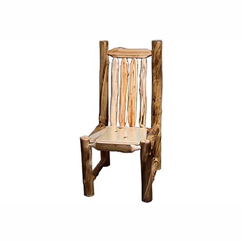 aspen log chair