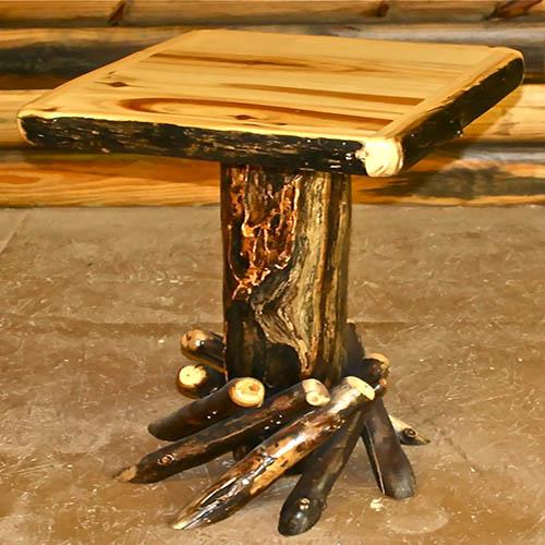 aspen fireside end table