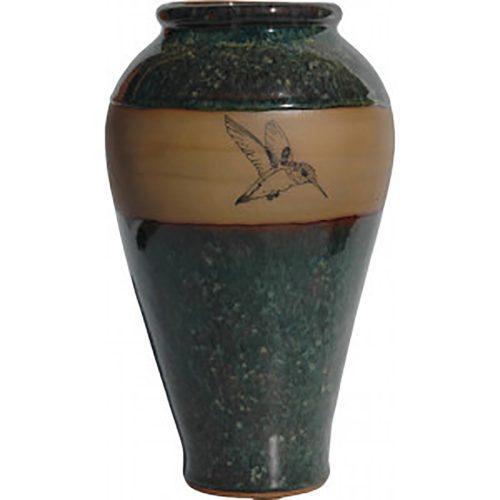 Hummingbird Slender Vase 165Hummingbird