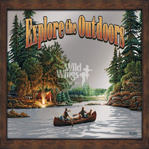 Explore the Outdoors Framed Mirror 5386493023
