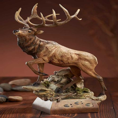 Hoofin It-Elk Sculpture 6567775066