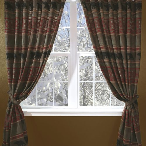 Bear Country Drapes JB-4007
