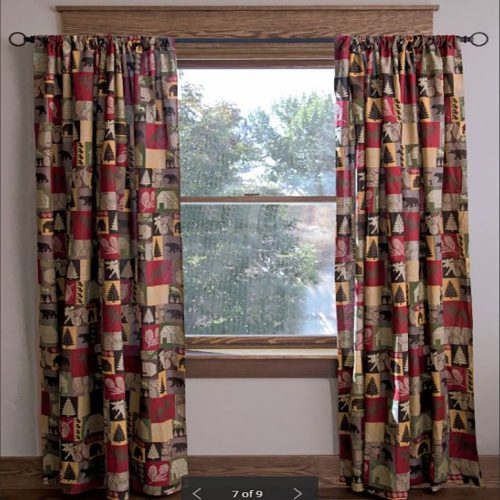 Cabin in the Woods Drapes