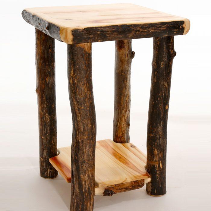 Aspen Log End Table