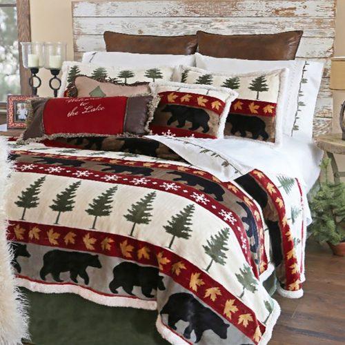Pine Tree Lodge Comforter