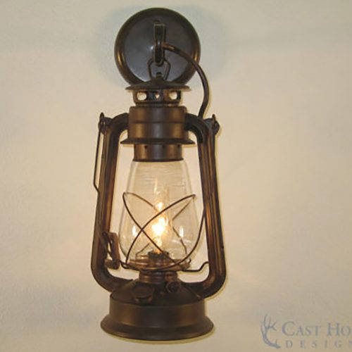 Large Rustic Lantern Wall Sconce LSLA