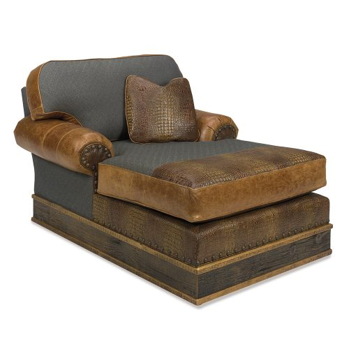 Paighton Reclaimed Barn Wood Lounge Chaise GG-131041-CHA
