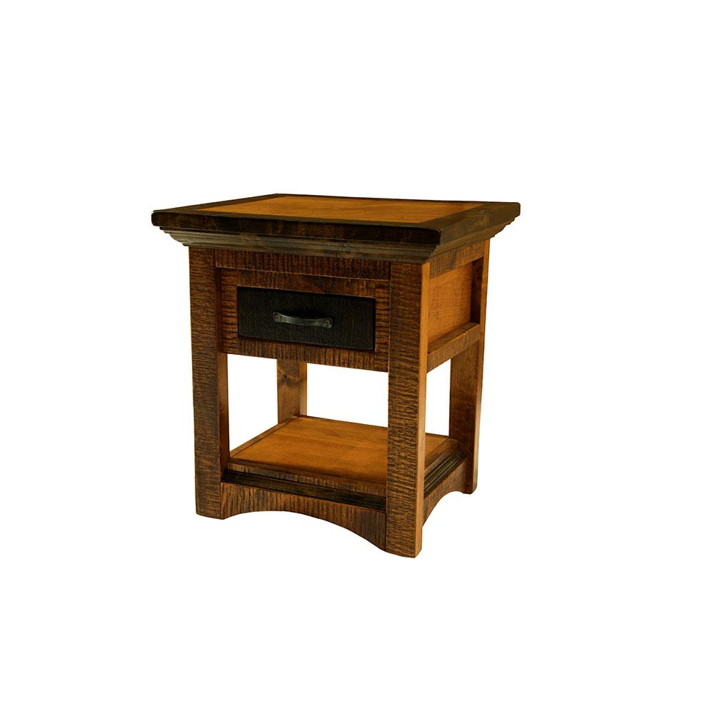 Chesapeake Reclaimed Barn Wood Side Table