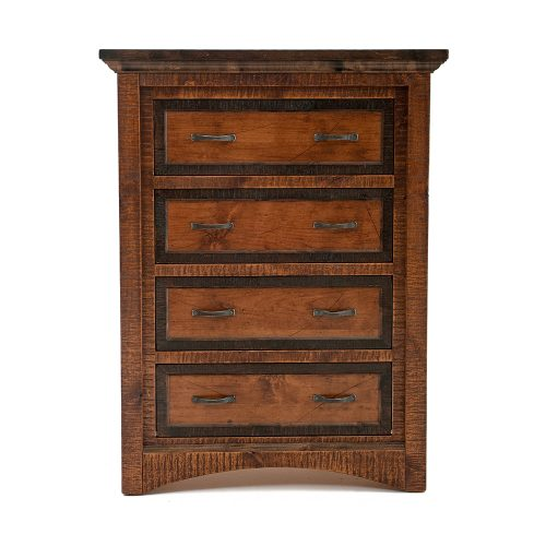 Chesapeake Reclaimed Barn Wood 4 drawer Chest 47426