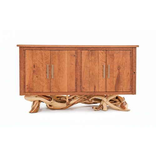 Fire Lake Sideboard - Cherry wood with Juniper Base