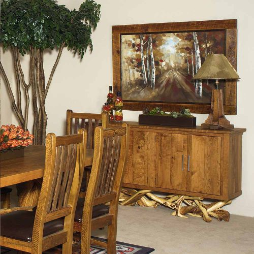 Fire Lake 4 Door Juniper-Cherry Sideboard 5719