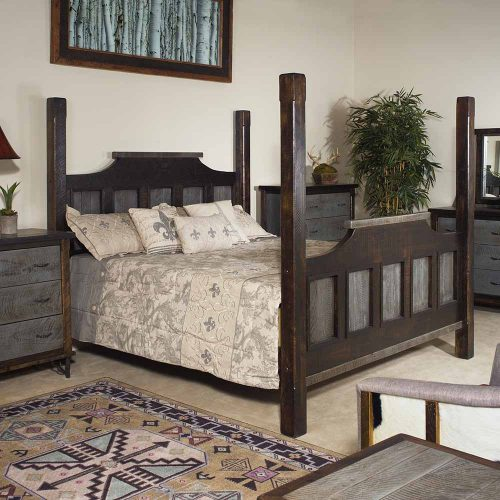 Hill Country Reclaimed Barn Wood Bed 36441