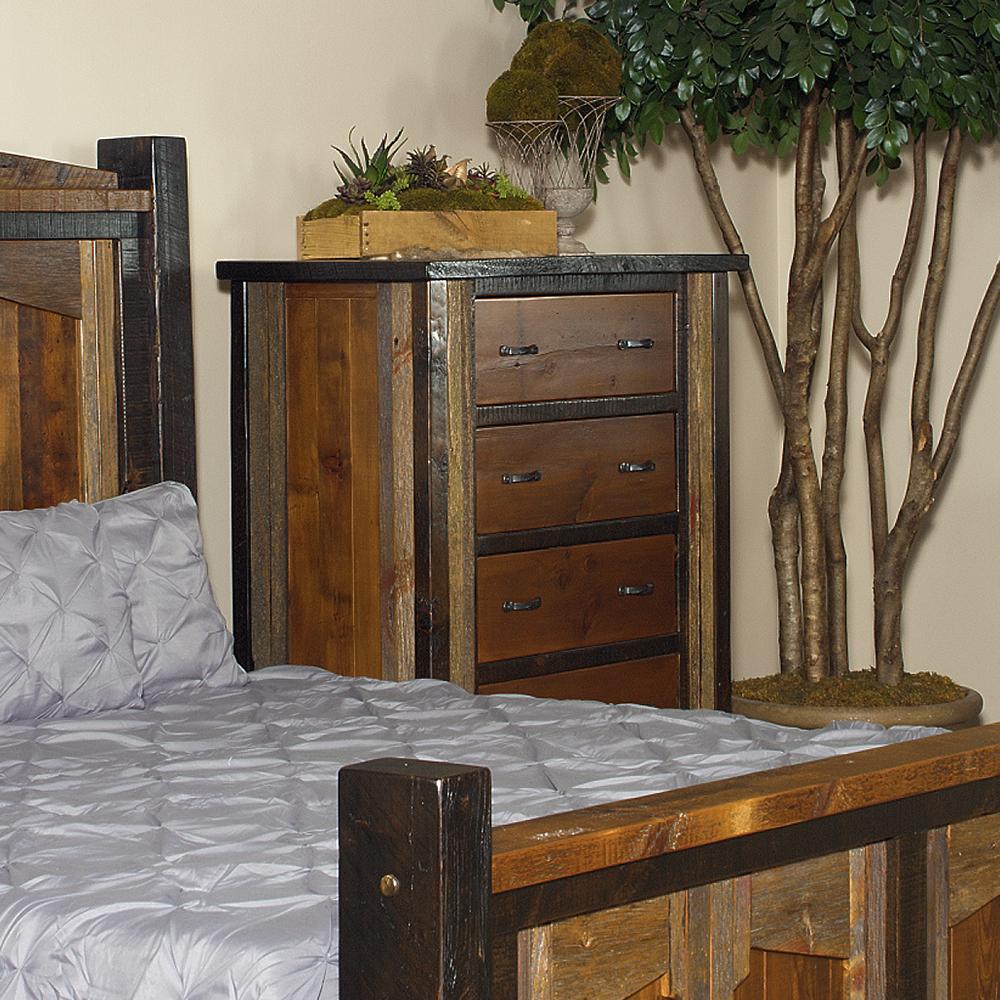 Cody Reclaimed Barn Wood 5 Drawer Chest 29427