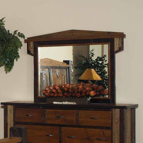 Cody Reclaimed Barn Wood Dresser Mirror 29413