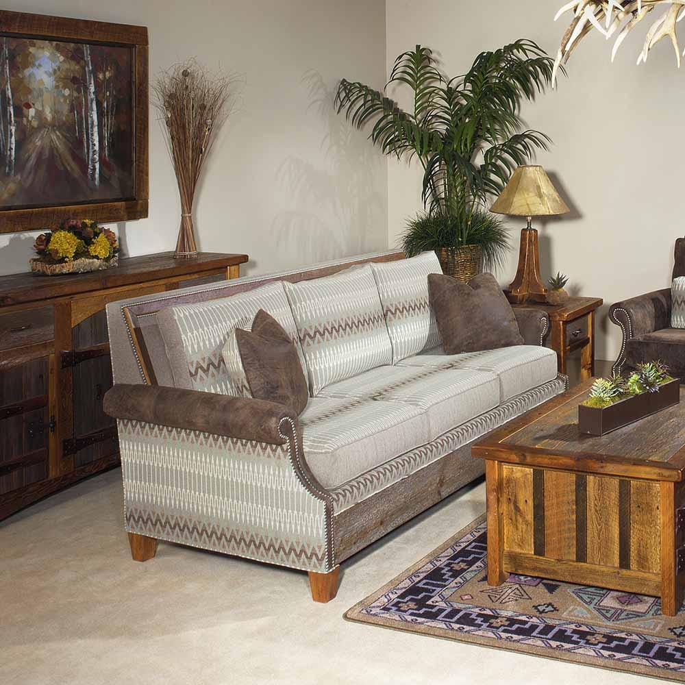 Norfolk Sofa-Rain-Reclaimed Barn Wood 6092420-SF-TM