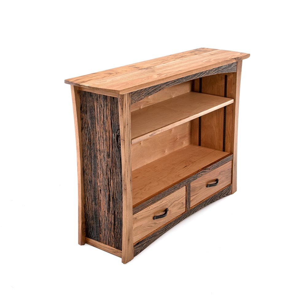 Hampton Heath 2 Drawer Bookcase HH7760