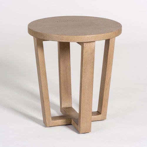Parker End Table AT9219-WDB Mango Wood