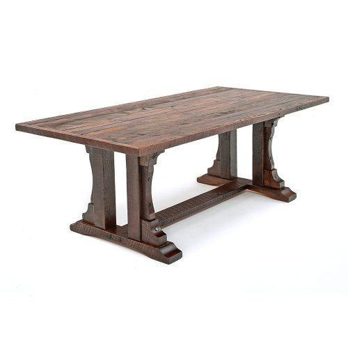 Oak Haven Reclaimed Barn Wood Dining Table 17050