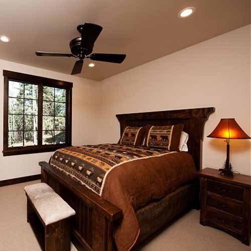 Sonoma Ridge Reclaimed Barn Wood Timber Frame Bed 49440