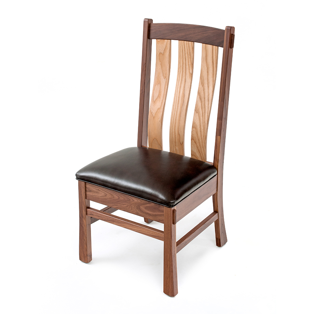 oak leather dining chairs ashcroft walnut oak dining chair leather seat a 850 3584