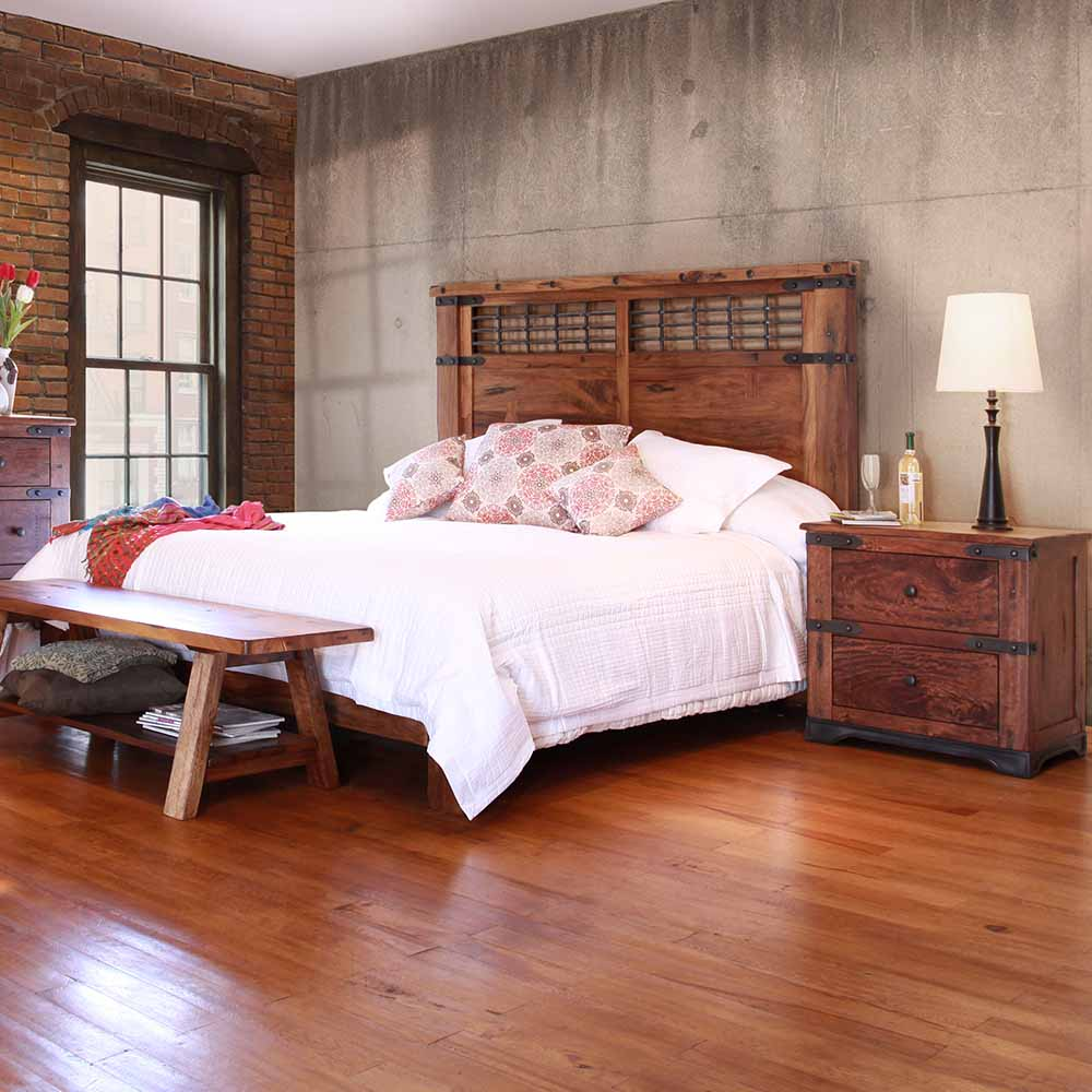 Parota Urban Rustic Bedroom Collection