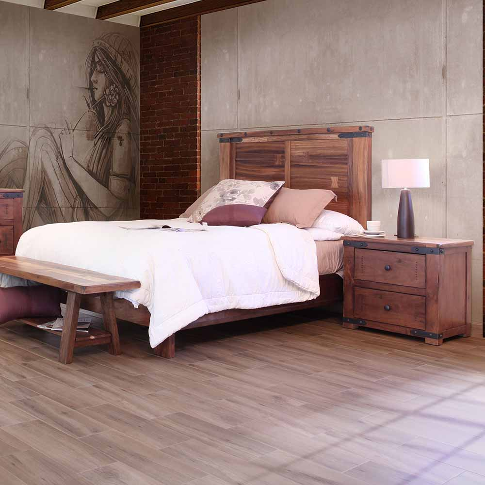 Parota Ii Urban Rustic Bedroom Collection Ifd867