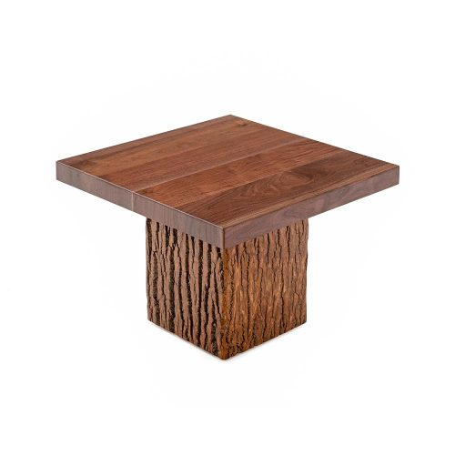 Birchmere Accent Table-Walnut Waterfall Top-TM Designs 8972207-WWT