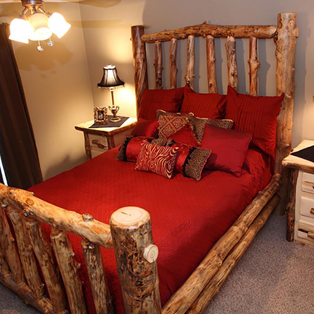 Aspen Log Beds