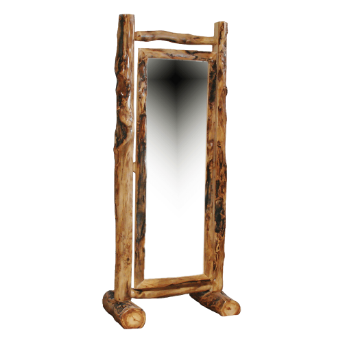 Aspen Log Cheval Mirror HOF-ALD-MIR-HL-CHEVAL