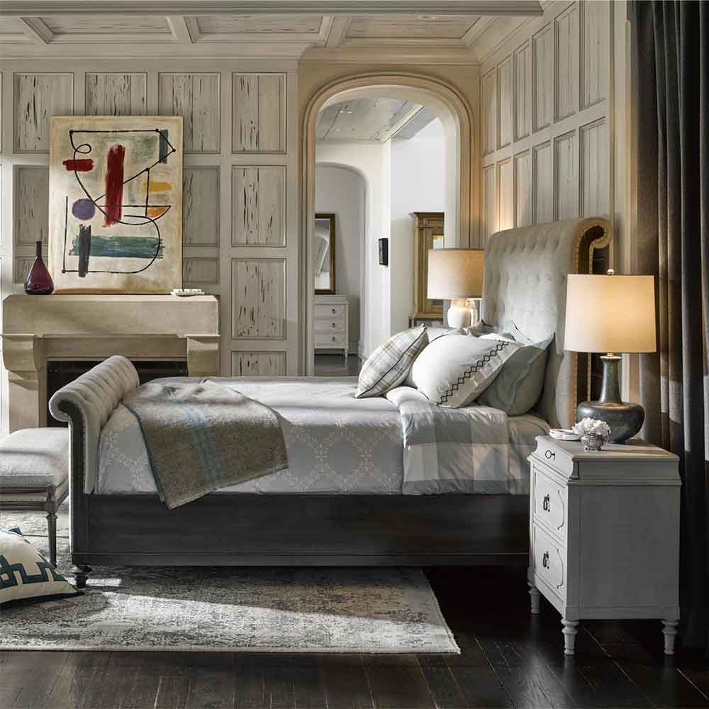 Cute As A Button Sleigh Bed 76475b
