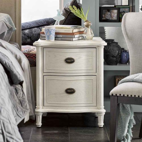 Amity 2 Drawer Nightstand