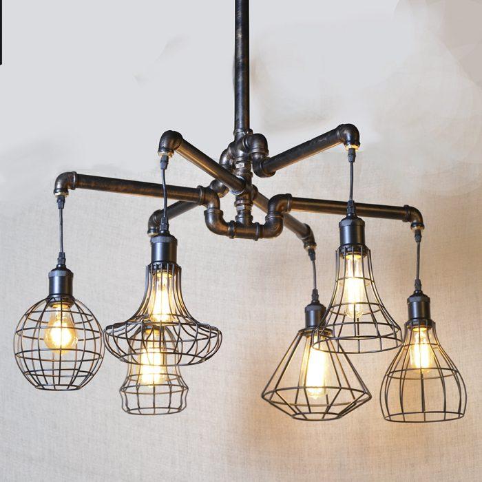 Luminaire Industrial Pipe Chandelier
