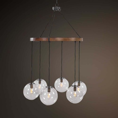 Vaughn 6 Light Chandelier