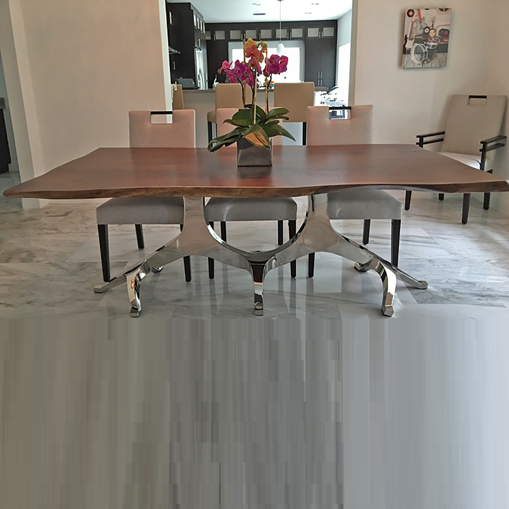 Modern Base Dining Table Dt00405b